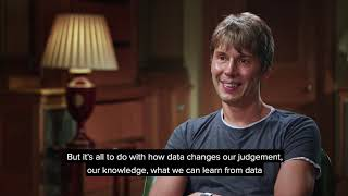 People of Science with Brian Cox - Sir David Spiegelhalter (clip)