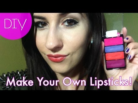DIY   How to Make Your Own Lipstick with Crayons