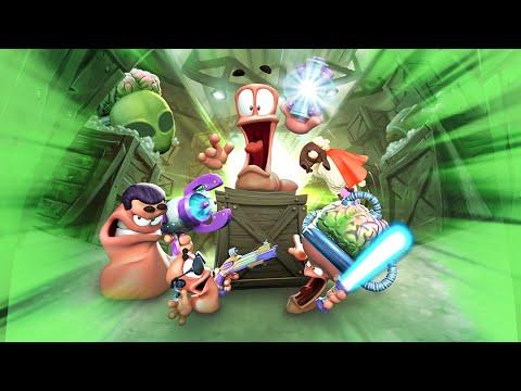 Worms Battlegrounds Alien Invasion DLC Trailer [Xbox One]