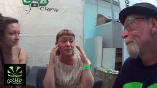 Marijuana Man and the CBD Crew at the ExpoGrow in Spain.