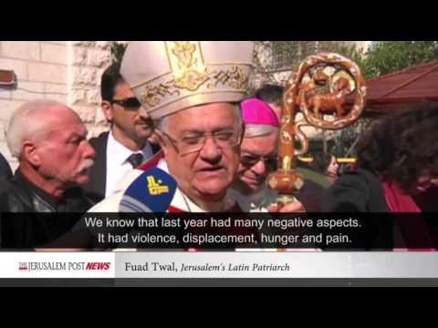 Jerusalem Post News: Latin Patriarch of Jerusalem leads mass in Gaza on last Sunday of Advent