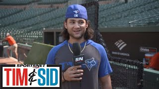 Bo Bichette Is Still Searching For That Perfect Nickname | Tim and Sid