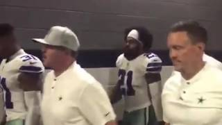 Watch Dak Prescott, Ezekiel Elliott & Cowboys players celebrate big win over Jaguars