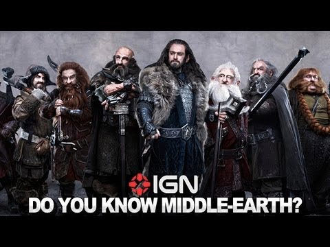 The Hobbit: Quizzing the Dwarves