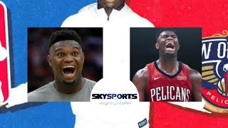 Zion Williamson Crazy Highlights | Lonzo Ball and Zion connection | Pelicans Open Practice