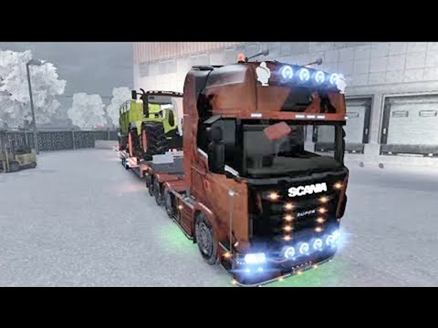 ETS2 Winter Edition +Download (Euro Truck Simulator 2) (part2)