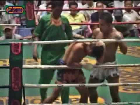 Muay Thai(Phichi) vs. Myanmar Lethwei(Saw Shark), Part 2 of 2 Image 1