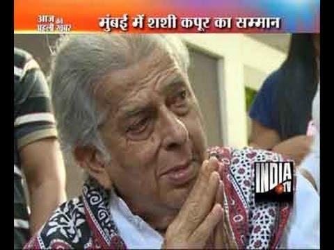 Watch Ailing Actor Shashi Kapoor