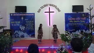 Múa làn điệu dân ca MỪNG CHÚA GIÁNG SINH - Thiếu Nhi HT ĐẠ ĐỜN - GH LUCA - LIÊN ĐOÀN TRUYỀN GIÁO