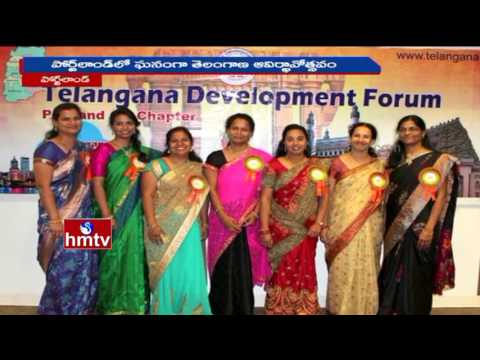 Telangana Formation Day Celebrations In Association With TDF In Portland   HMTV