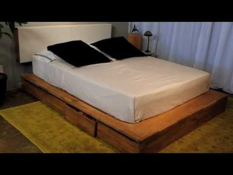 How To Build A Platform Storage Bed For Under $200 | How To Save Money ...