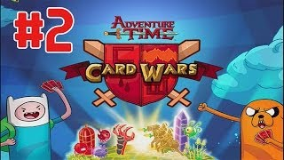 Card Wars - Adventure Time Walktrhough Part 2 (iOS)
