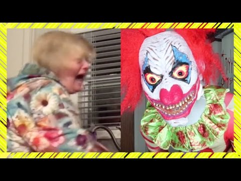 Killer Clown Prank an Mutter geht schief (Extreme) Reaktion !