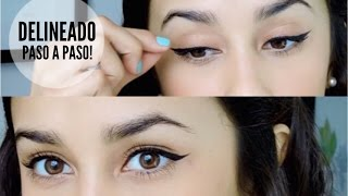 Delineado Cat-Eye PASO A PASO !!!