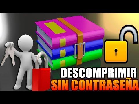 Descomprimir o extraer archivos .RAR con contraseña | Tutorial | HD | 2014