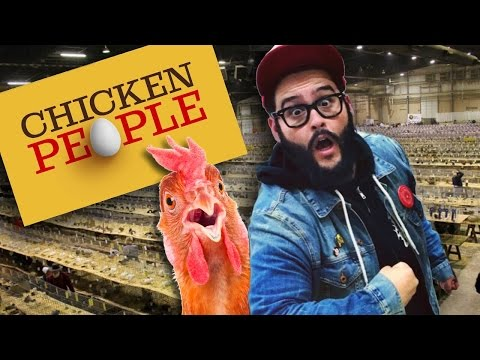The Ohio National Poultry Show Adventure! Ft. Chicken People!