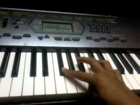 Casio  Tutorial of Tujhe bhula diya..(Starting...Naina Lagiyan...
