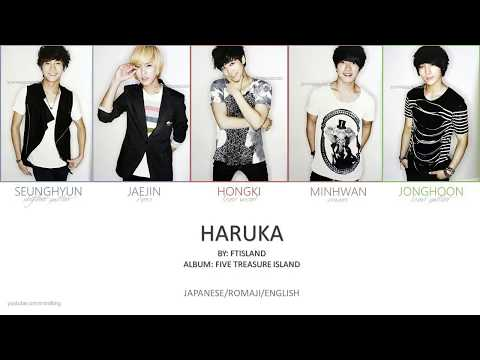 FTISLAND - 'HARUKA' Jpn/Rom/Eng (Colour Coded)