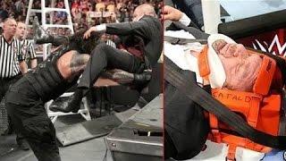 Roman Reigns destroys Triple H after Match || Roman Reigns vs Sheamus & Triple h