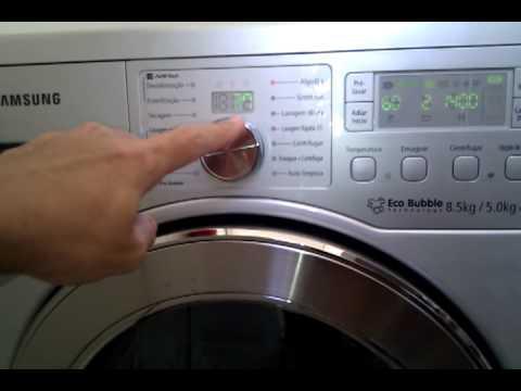 Lavadora secadora roupa Samsung WD0854W8N1XA