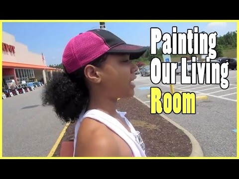 Painting Our Living Room