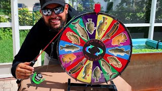 SPIN THE MYSTERY WHEEL EXOTIC FISHING CHALLENGE!