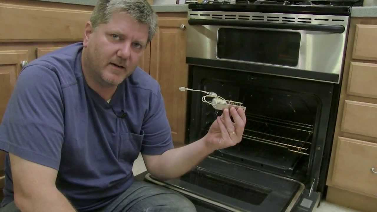Repair Gas Oven Replacing Hot Surface Igniter Youtube