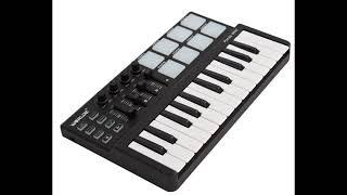 Musical keyboard for creating rap beats. Buy MPK midi. $50