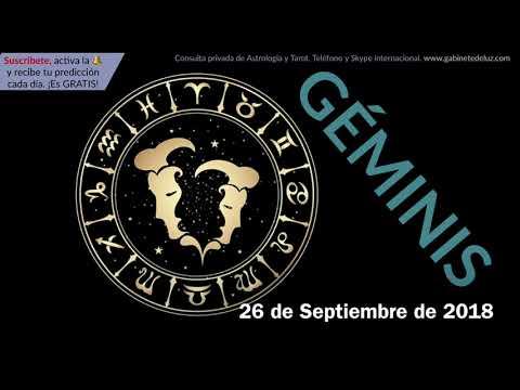 Horóscopo Diario - Géminis - 26 de Septiembre de 2018