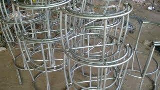 Ghế Mây Nhựa - Sản Xuất Ghế Trứng cho Quán Cafe Kem tại Mũi Né, Phan Thiết - Ghế Giả Mây Minh Thy