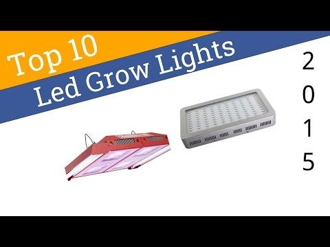 10 Best LED Grow Lights 2015