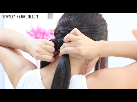 Peinados con coletas fáciles y rápidas