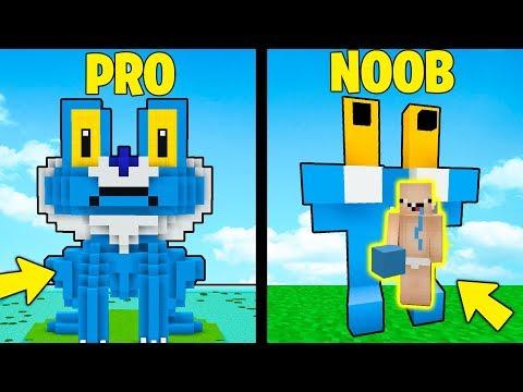 NOOB vs BARONE (Pro) - FROAKIE - Minecraft ITA