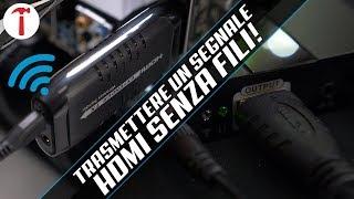 Trasmettere un segnale HDMI a 50 metri senza fili con l'Extender Techly