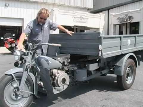 1960 Moto Guzzi Ercole - YouTube