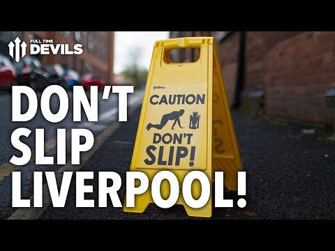 DON'T SLIP, LIVERPOOL! | Steven Gerrard Prank! | Manchester United