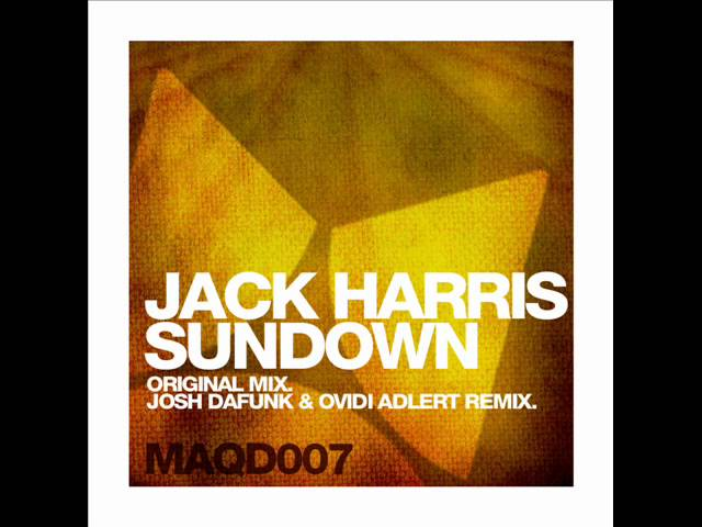 Jack Harris - Sundown (Maquina Deep)