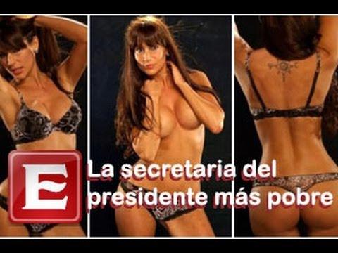 La sexy secretaria del modesto presidente de Uruguay
