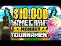 SwaggerSouls and Fitz WIN the Hunger Games!?! $10,000! Minecraft Monday Hunger Games Tournament!!!