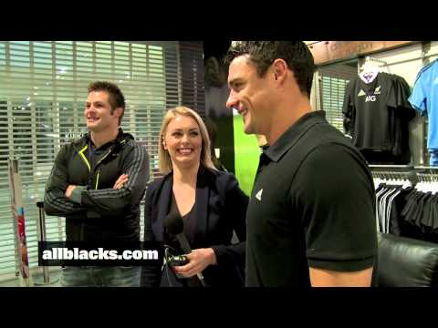Dan Carter and Richie McCaw re-sign with adidas.