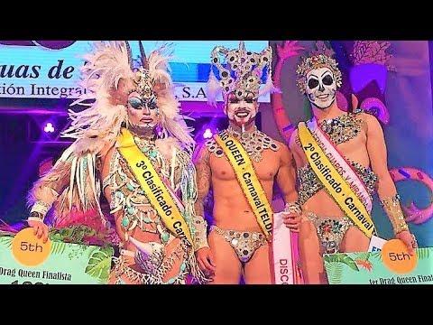 Drag Quirón se corona como reinona del Carnaval de Telde