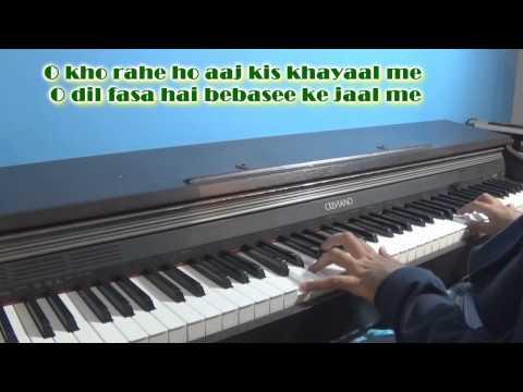 Yaad Kiya Dil Ne Kaha Ho Tum (patita) Piano Cover By Angad Kukreja video