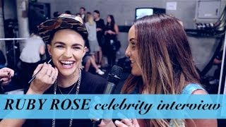 RUBY ROSE chats wedding planning, being in love, depression (Pt 1)