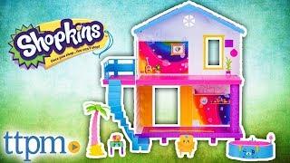 Shopkins Happy Places Rainbow Beach Happy Beach House from Moose Toys