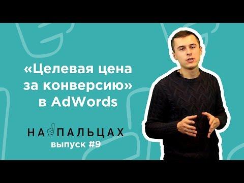«Целевая цена за конверсию» в AdWords — На Пальцах #9 (Netpeak)