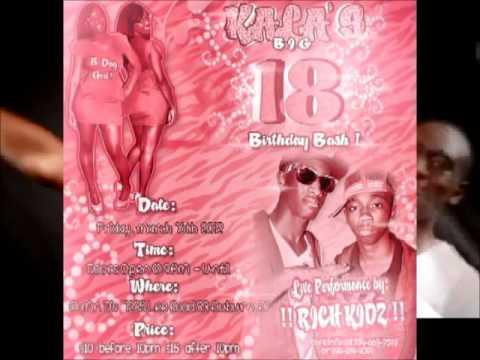 RICH KIDZ PERFORMING LIVE AND CELEBRATING KALA'S 18TH BIRTHDAY @ MR. D's #1