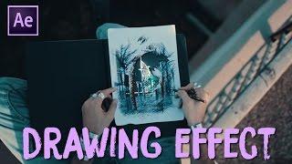 Appear Through Drawing Effect (Sam Kolder - My Year 2016)