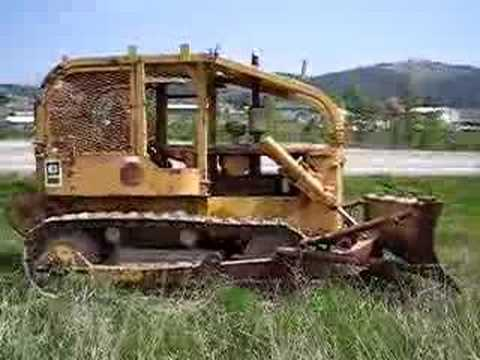 CAT D5 Crawler Dozer With Winch