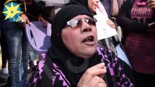 بالفيديو: مواطنة أمام الكاتدرائية  اللي هيقرب من اخوتنا المسيحيين هناكل كبده صاحي