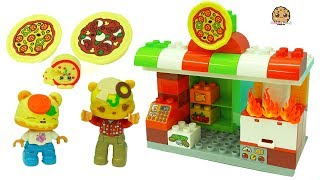 Pizza Restaurant - Fun Play Video with LEGO Duplo + Num Noms Toys